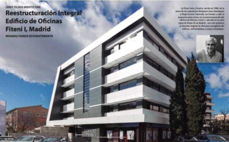 Reestructuración integral edificio de oficinas Fiteni