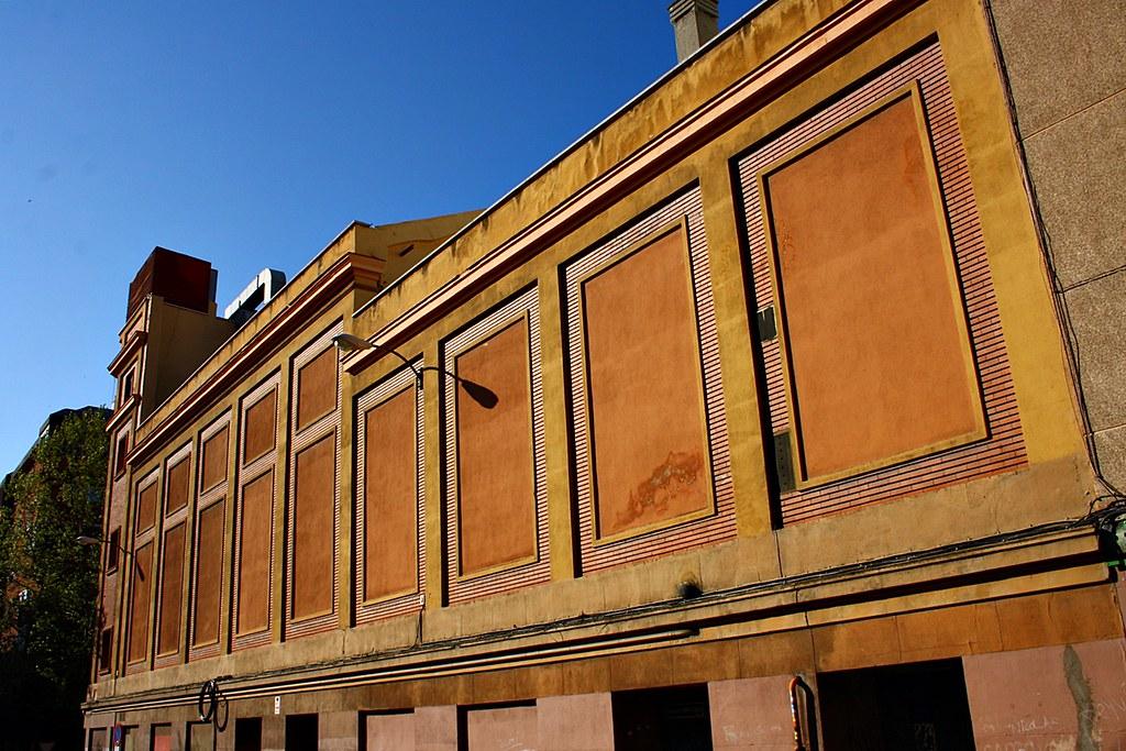 De cine a gimnasio. El antiguo cine de López de Hoyos en el barrio de Ciudad Jardín