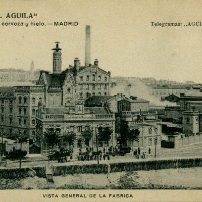 La Fábrica de cerveza El Águila en Madrid, un ejemplo de arquitectura monumental industrial
