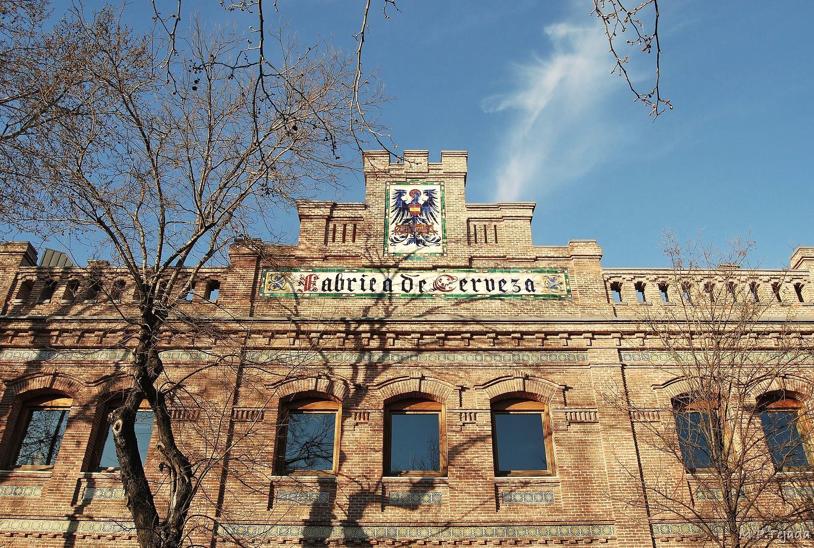 Fábrica de cerveza El Águila en Madrid