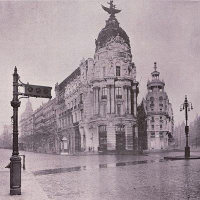 El primer semáforo en España