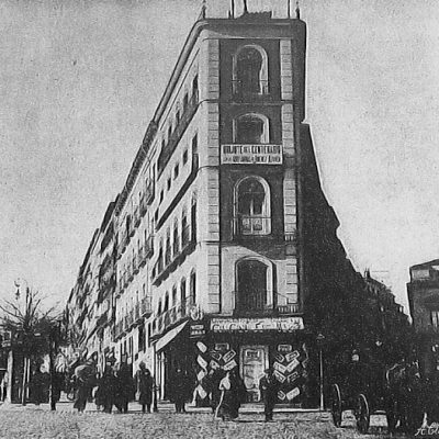 Casa del ataúd Gran Vía Madrid
