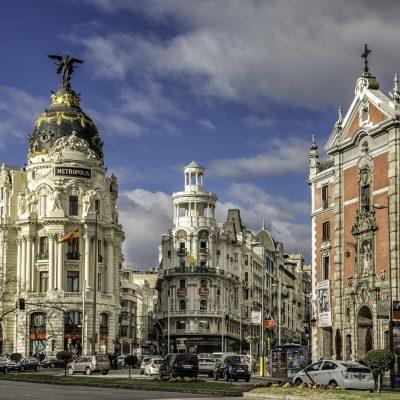 Edificio Metrópolis Gran Vía Madrid