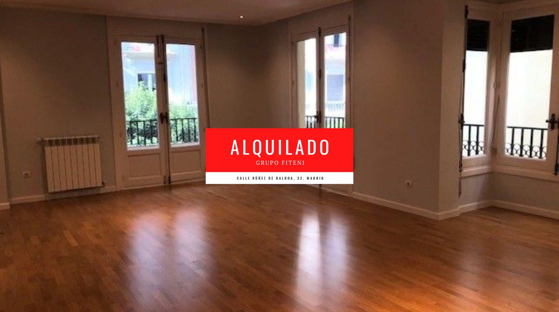 Alquiler de piso calle Núñez de Balboa Madrid