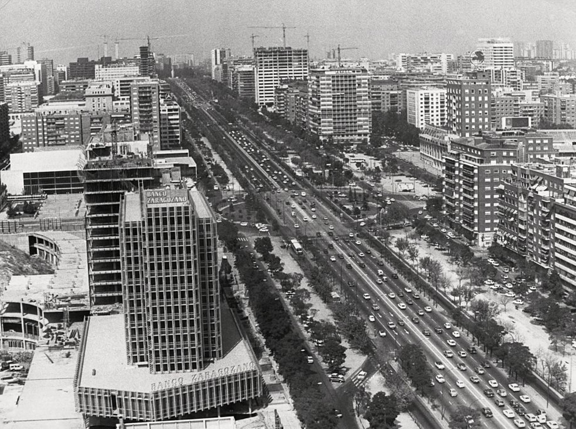 Paseo de la Castellana 1977