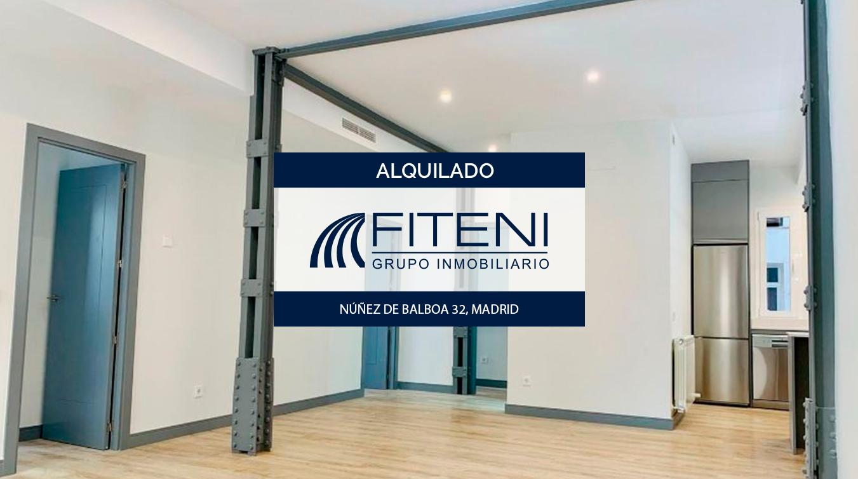 Alquiler de piso calle Núñez de Balboa 32 Madrid