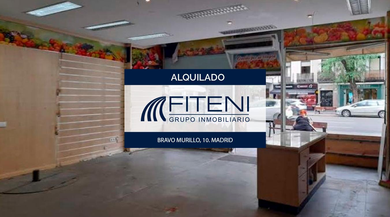 Alquiler de local en Bravo Murillo 10 Quevedo Chamberí