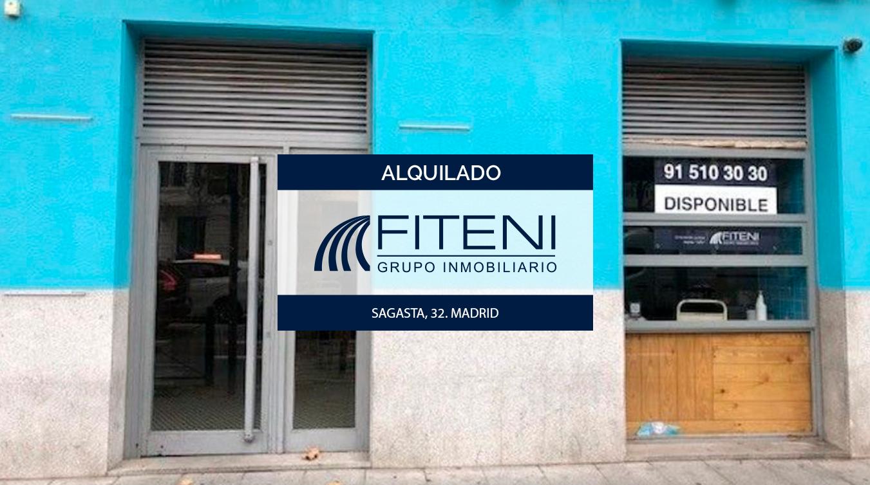 Alquiler de local en Chueca - Justicia Madrid a pie de calle