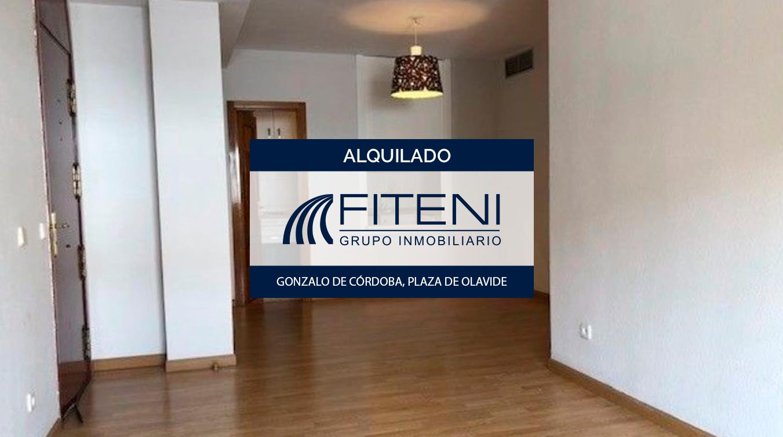 Alquiler de apartamento en la plaza de Olavide, Chamberí