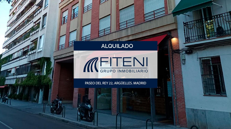 Alquiler de plaza de garaje para moto en Argüelles (Moncloa). Cerca de Príncipe Pío